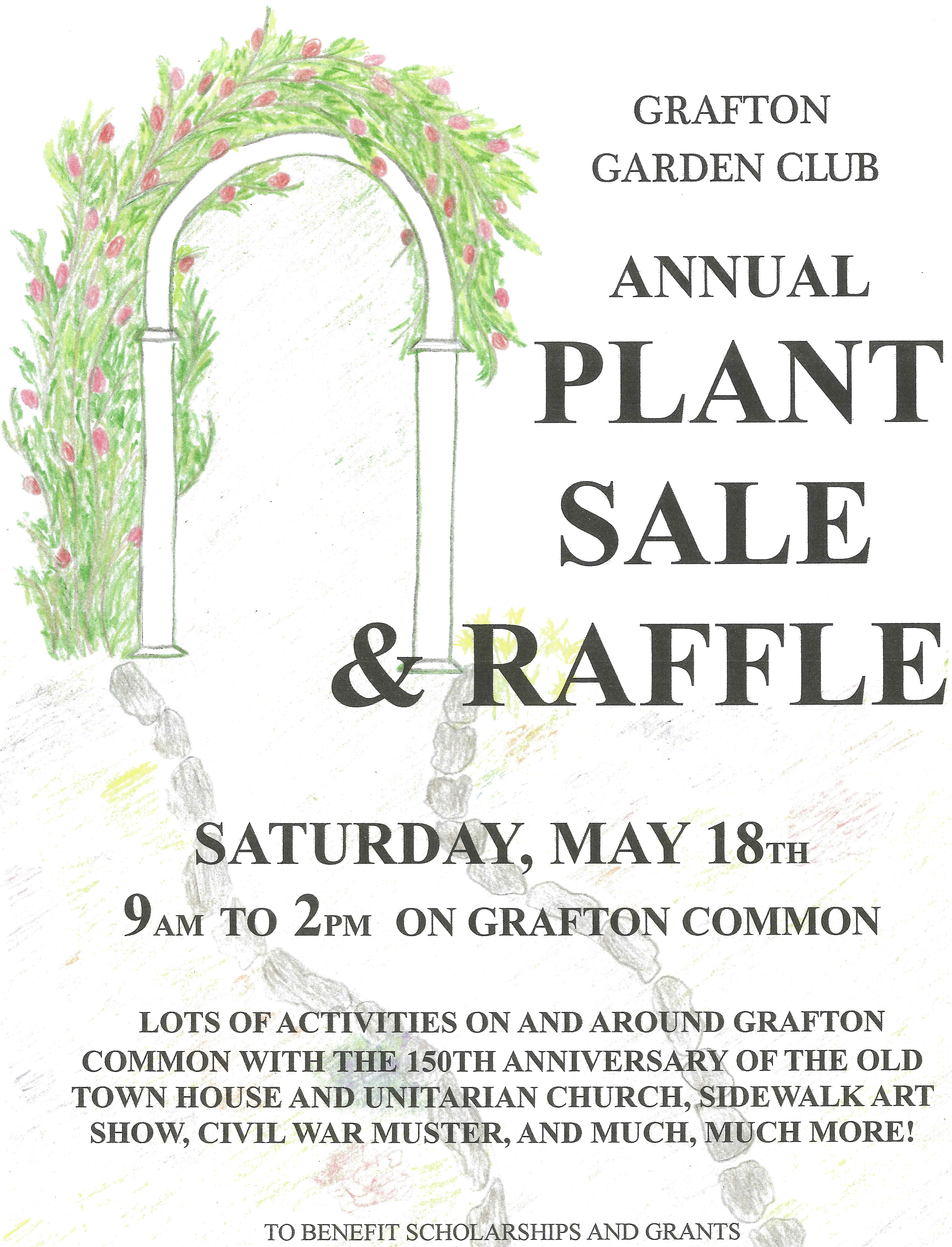 Plant Sale and Raffle